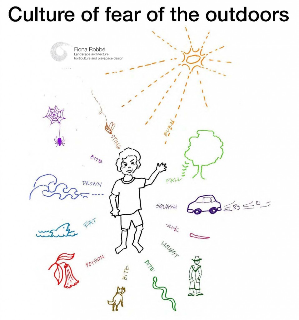 culture of fear of the outdoors