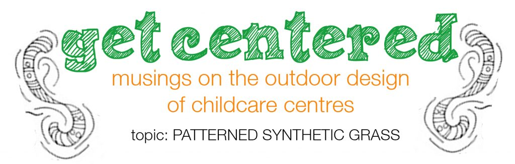 Patterned Synthetic Grass