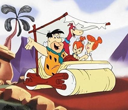 Flintstones Car Square 3